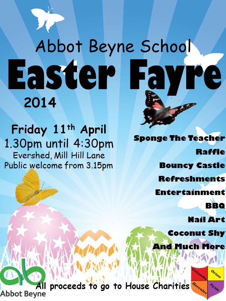 Easter Fayre Poster Website