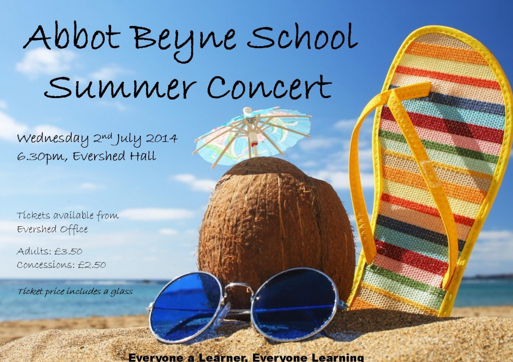 Summer concert POSTER - WEBSITE
