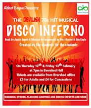 Disco Inferno Poster 2015