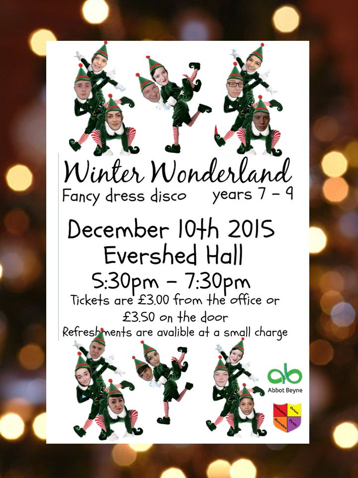 Winter Wonderland Poster 2015